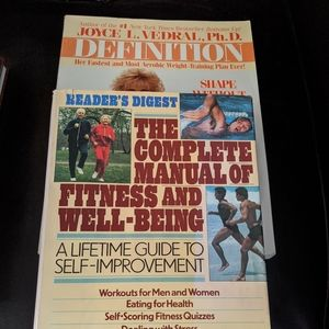 Other - VINTAGE Fitness Books